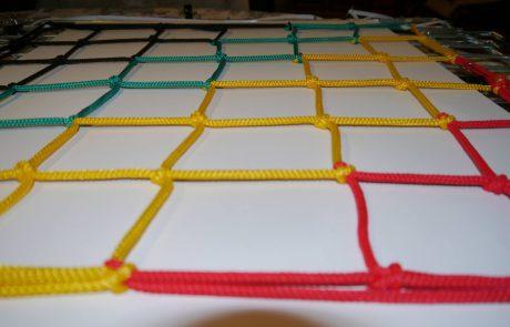 színes sportháló